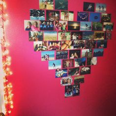 Room picture heart! Diy room decor