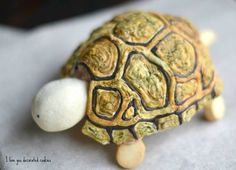 Hand painted cookie turtle.  All cookie and RI