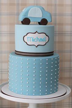 #preppydesserttable cake by Lorinda Seto for A little Polkadot