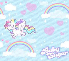 Baby Sugar Pattern Background by MissJediflip.deviantart.com on @DeviantArt