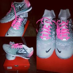 Love my new Nike tr fit 3 dye training shoes!