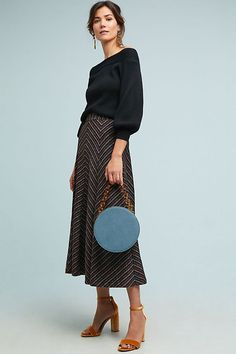 Well-Educated Anthropologie Skirt Cool In Summer And Warm In Winter Skirts