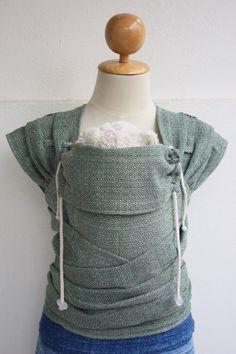 BaBy SaBye Wrap Mei Tai sling hand-woven with a hood Green Tea linen&hemp by BaBySaBye on Etsy https://www.etsy.com/listing/208336672/baby-sabye-wrap-mei-tai-sling-hand-woven