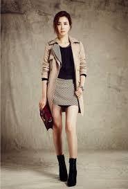 Resultado de imagen para moda coreana juvenil invierno 2014