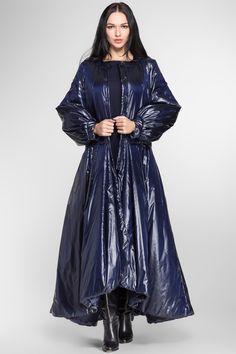 Пальто+капюшон+пояс CHARISMA