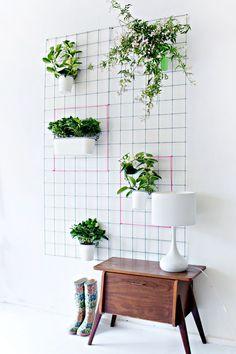 DIY Wall Plantercountryliving