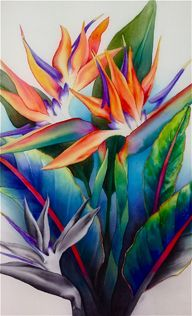 Susan Louise Moyer silk painting workshop