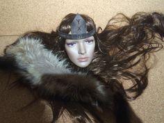 Leder Stirnband mit von Elbengard auf Etsy