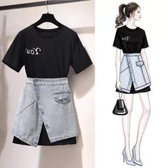 Kpop Fashion Outfits, Korean Outfits, Mode Outfits, Trendy Outfits, Korean Girl Fashion, Cute Fashion, Asian Fashion, Mode Chic, Mode Style