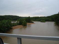 Black River @ K hwy bridge flood June 2009