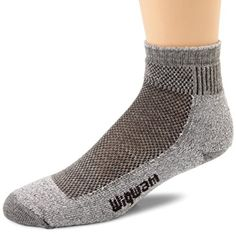 Wigwam Cool Lite Hiker Pro Quarter Socks Grey MD 2PACK -- Read more reviews of the product by visiting the link on the image.