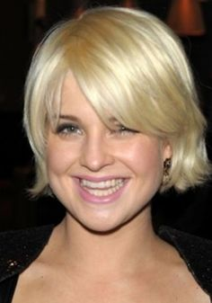 short hair round face - Google Search