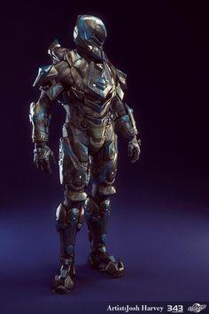 Very cool full armor detail..
