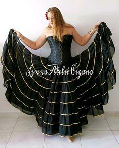 Flamenco Skirt, Big Girl Fashion, Sharara, Belly Dance, Formal Dresses, Wedding Dresses, Skirt Fashion, Designer Dresses, Ideias Fashion