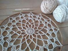 Crochet Wall Art, Crochet Home, Love Crochet, Knit Crochet, Sun Catchers, Doily Dream Catchers, Dream Catcher Boho, Crochet Dreamcatcher, Crochet Mandala