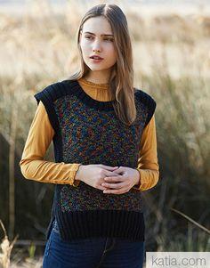 Book Woman Sport 94 Autumn / Winter | 54: Woman Sweater | Multicolour / Black