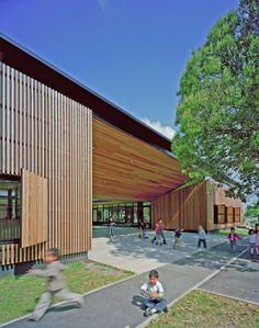 l'Ecole Jean Jaures / Marjan Hessamfar & Joe Vérons + Art'ur architecte