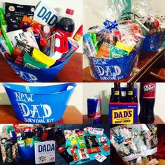 Growing with the Gordons:  New Dad Survival Kit Gift for New Dads!
