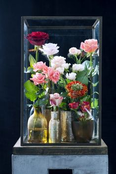 Display your roses in an innovative way