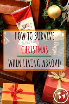 Christmas is my absolute favourite time of year! Christmas songs, Christmas jumpers, unlimited amount of food, no judgement for being drunk before 12am…. I could go on and on … Here's your guide to surviving Christmas if you're living abroad!