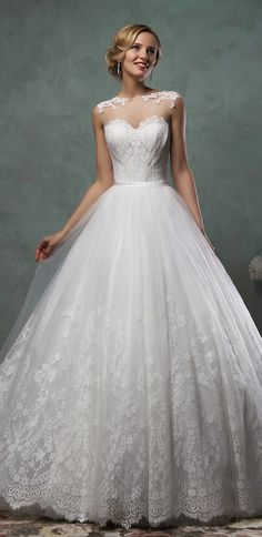 amelia-sposa princess lace wedding dresses valery