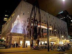 de Bijenkorf in Rotterdam, Zuid-Holland