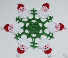 delicadezas en crochet gabriela de navidad