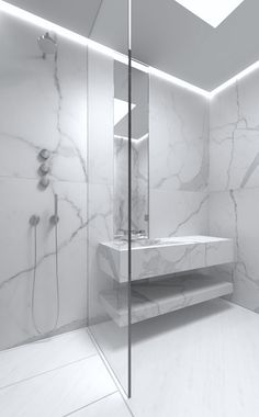 Clean & Crisp Minimalism - the one level floor also makes it safe