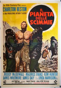 cartaz Archives Of The Apes: Planet Of The Apes International Movie Posters Archiv der Affen: Planet der Affen Internationale Filmplakate