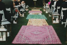 wedding aisle rugs