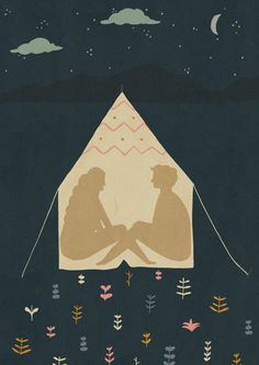 Naomi Wilkinson Illustration (I've been working hard on a few exciting things… Camping Theme, Camping Crafts, Camping Ideas, Truck Camping, Camping Games, Diy Camping, Camping Activities, Camping Essentials, Gravure Illustration