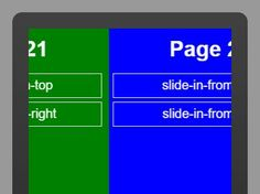 page.js is a jQuery plugin used to implement the smooth CSS3 based page transition effects on your one page website and single page web application.