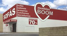 TIENDA DE MUEBLES BOOM en PARLA - MADRID C/ REAL 120  (Frente antigüa Iveco) PARLA  (MADRID)