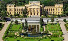 MUSEU PAULISTA – O Museu do Ipiranga ou Museu da USP tem projeto assinado pelo italiano Tommaso G. Bezzi é o museu público mais antigo da cidade de São Paulo, cuja sede é um monumento-edifício que faz parte do conjunto arquitetônico do Parque da Independência