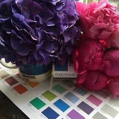 Talk about timely. We can't Pantone match our blooms but we were just planning a…