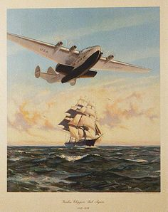 Clipper Ship Poster