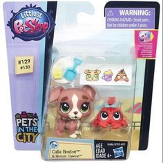 This is a Littlest Pet Shop Pets City Calla Boxton And Blossom Clawson Figures that's produced by the good folks over at Hasbro. They are roughly 1 to 2 inches tall and comes with pet, pet friend, 2 D Lps Littlest Pet Shop, Little Pet Shop Toys, Little Pets, Dollhouse Kits, Dollhouse Miniatures, Lps Playsets, Lps Pets, Bubble Stickers, Sugar Sprinkles