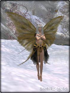 Faeline Fairy Wings - Sachiko (gold)