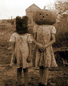 Vintage Halloween Photo Album