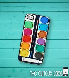 iPhone 4 Case Slim Profile  Watercolor Paint by TheCuriousCaseLLC, $16.99