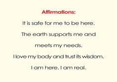 .1. Muladhara Chakra : Root Chakra ~ Root Chakra Affirmation