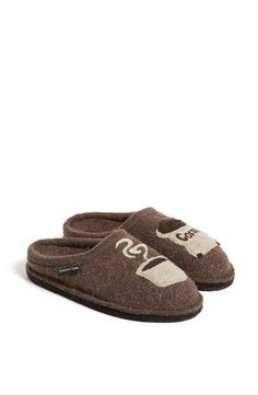 Haflinger 'Coffee' Slipper available at #Nordstrom