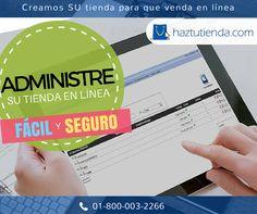 La forma más sencilla de vender es en línea. ¡Comienza HOY! haztutienda.com #Ecommerce #Negocio