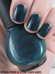 Khloe Had a Little Lam-Lam  Love love love this color. One of my new go to polishes