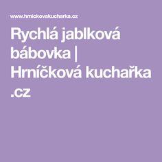 Rychlá jablková bábovka   Hrníčková kuchařka .cz