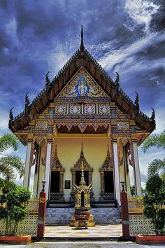 Siamese Temple . Malaysia