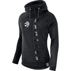 Toronto Raptors Ladies Modern Cape Hooded Longsleeve