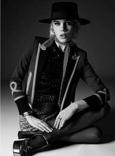 Saint Laurent Spring 2015   Julia Cumming by Hedi Slimane [Campaign]