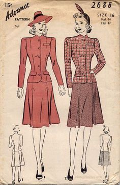 1940s clothing for women - Bing Images