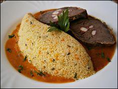 Kuskus - základní příprava Cornbread, Ethnic Recipes, Fit, Bulgur, Millet Bread, Shape, Corn Bread